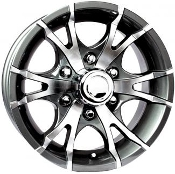 Sendel T06GM Gray Machined 15X6 6X5.50/139.7 Trailer Wheel