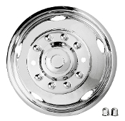 "19.5"" 2005-2014 FORD F450/F550 Stainless Steel Wheel Simulators"