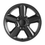 20X8.5 BLACK V1164 TAHOE LTZ REPLICA WHEEL - Part No:V1164-285831B