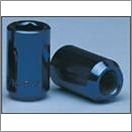 Blue Passenger Hex Lugs 12Mm 1.25 Rh